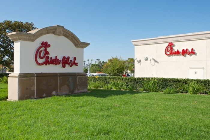 A Chick-fil-A restaurant is seen here in Southern California, Aug. 1, 2012. (Photo: The Christian Post)