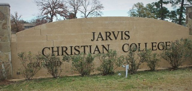 The entrance sign at Jarvis Christian College in Hawkins, Texas | Wikimedia Commons/Hot Furnace