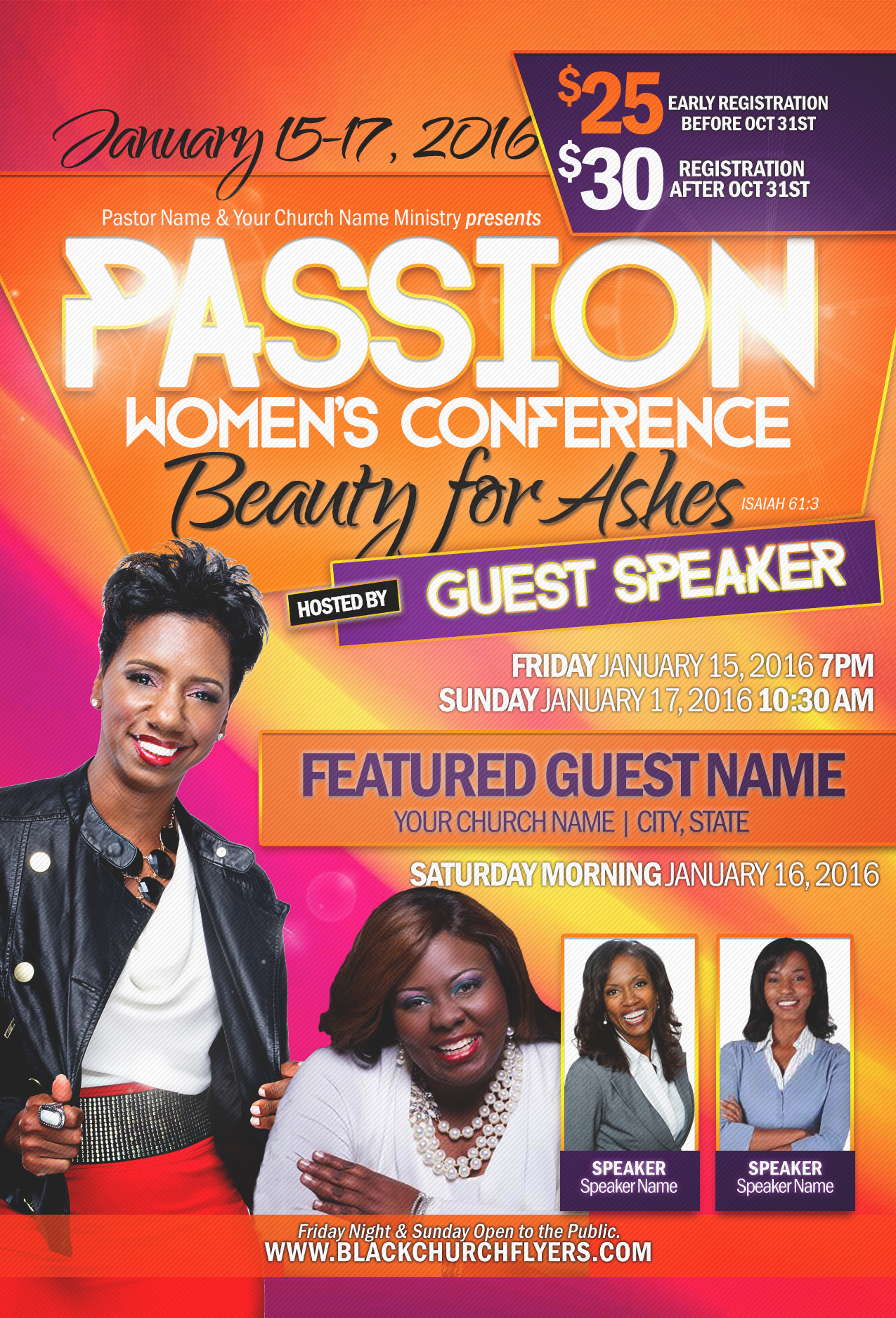 black church flyers  u2013 the perfect solution for designers