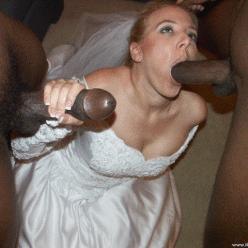 Wedding Night Sluts - image  on https://blackcockcult.com
