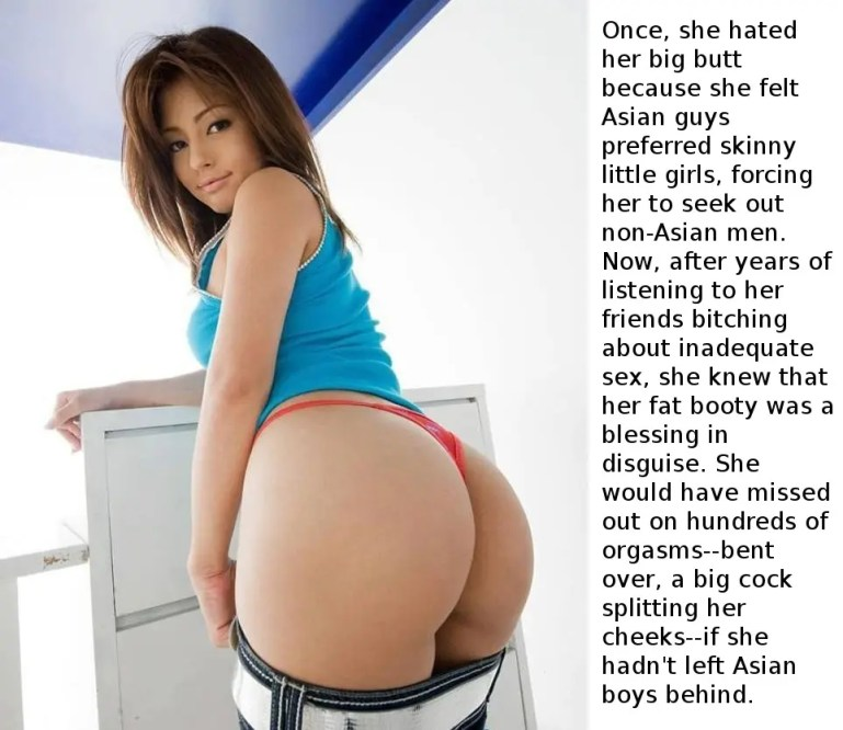 Asian Cuckold Captions - #1-10 - image  on https://blackcockcult.com