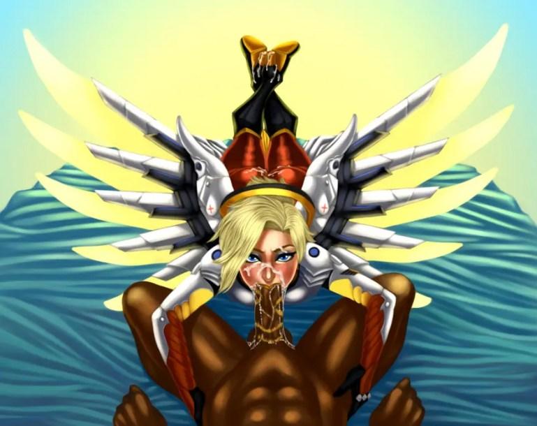 Overwatch + Big Black Cock [21 Images] - image  on https://blackcockcult.com