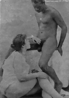 Vintage Interracial Photos - I - image  on https://blackcockcult.com