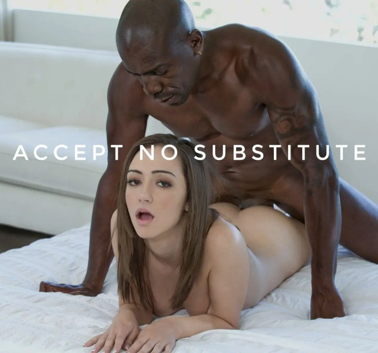 Accept No Substitute For Black - image  on https://blackcockcult.com
