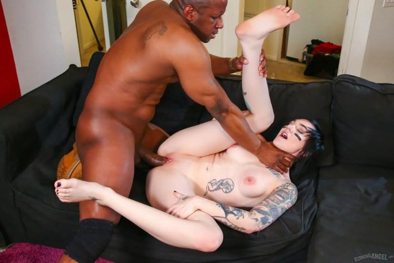 Black Man Enjoying The Game With His Lesbian Slut Slaves - image  on https://blackcockcult.com