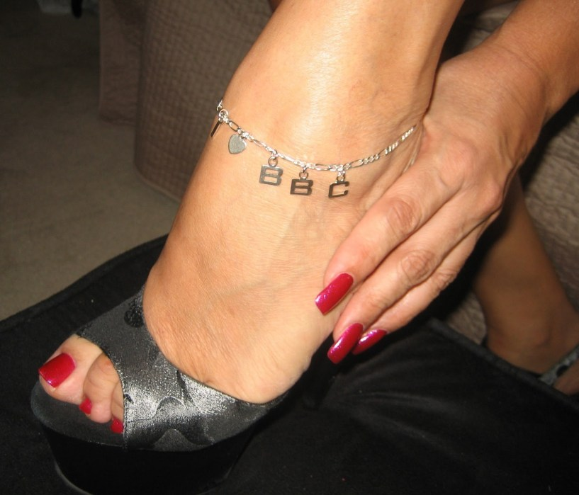 Queen of Spades Anklets and Tattoos - I - image  on http://blackcockcult.com