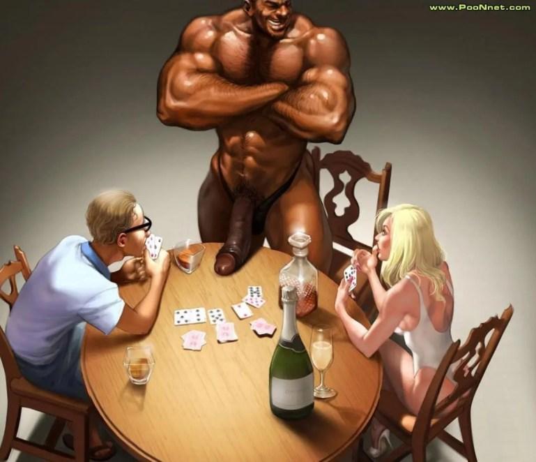 Cuckold Cartoons - I - image  on https://blackcockcult.com