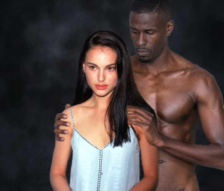 Natalie Portman Chooses Black - image  on https://blackcockcult.com