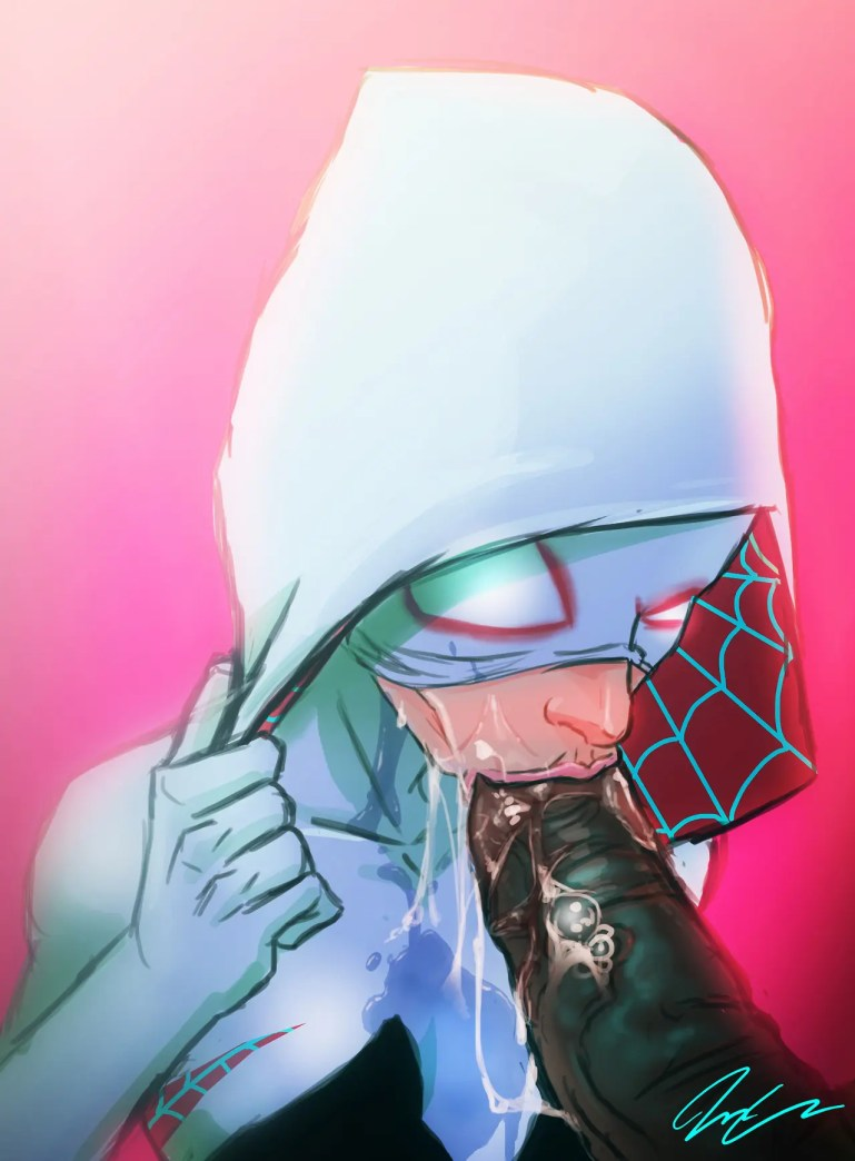 The 'Updated' Spider-Gwen Comic Book - image  on https://blackcockcult.com
