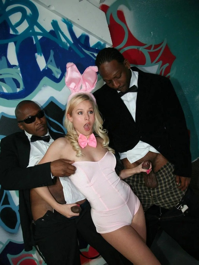 Kristen Bell is a Loyal Black Only Slut - image  on https://blackcockcult.com