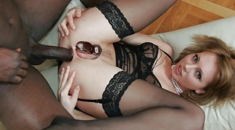 Feminized and Blacked - I - image  on https://blackcockcult.com