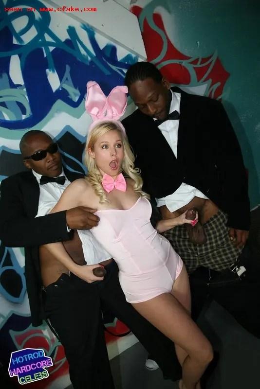 Black Cock Queens: Kristen Bell - image  on https://blackcockcult.com