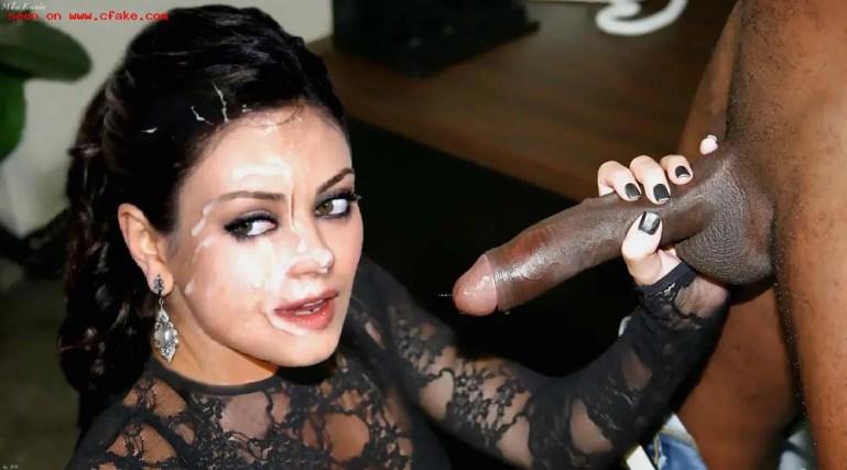 Black Cock Queens: Mila Kunis - image  on https://blackcockcult.com