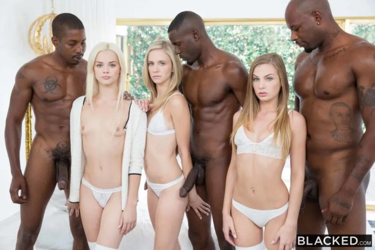 Blondes Having Fun With Big Black Cock - image  on https://blackcockcult.com