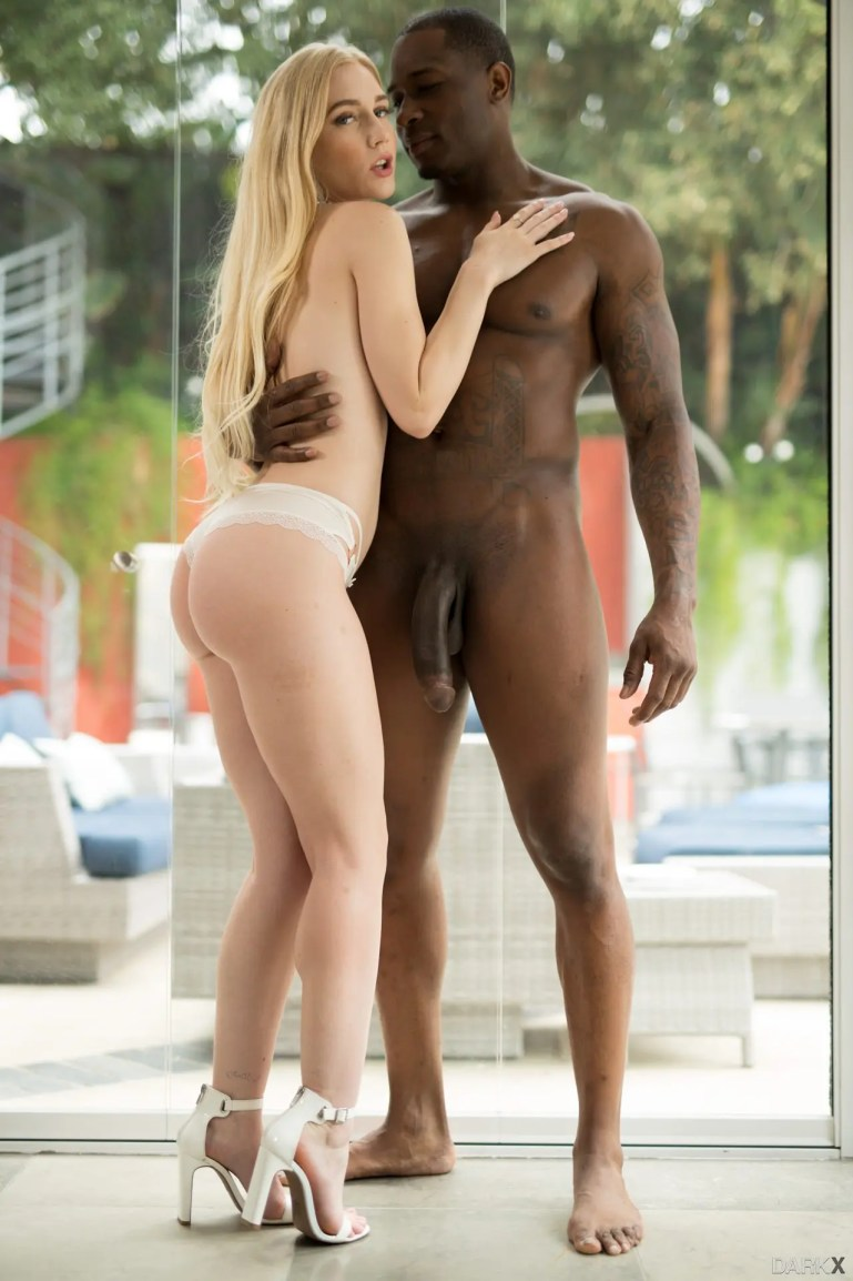 Emma Starletto Poses With Her Favorite Black Cock - image  on https://blackcockcult.com