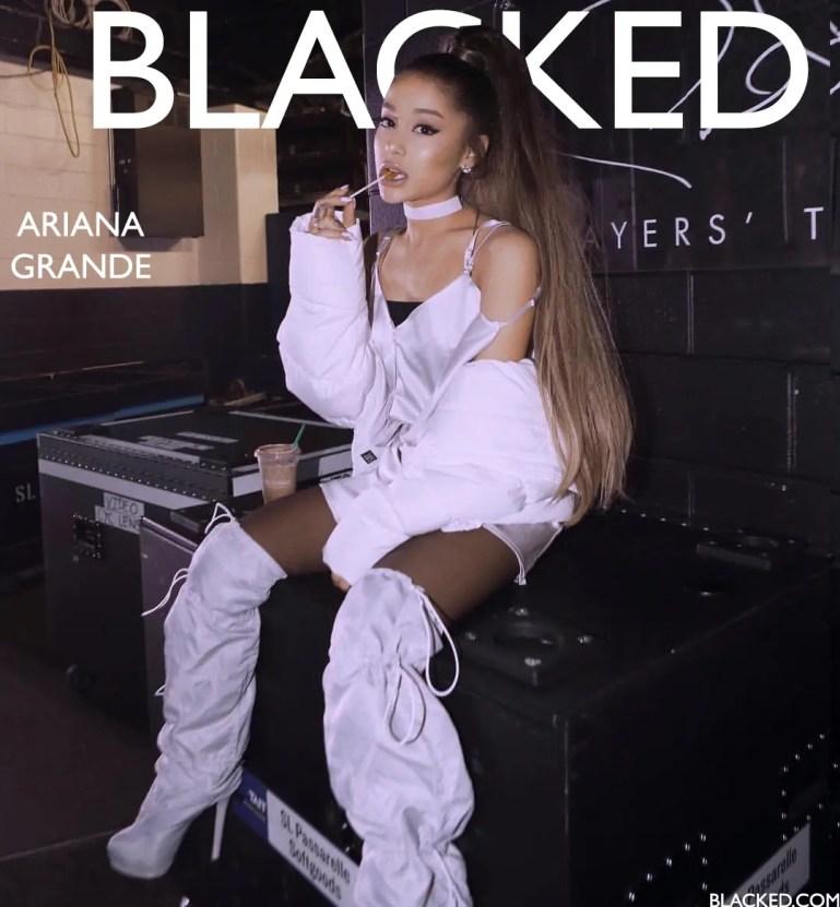 Blacked List: Ariana Grande - image  on https://blackcockcult.com
