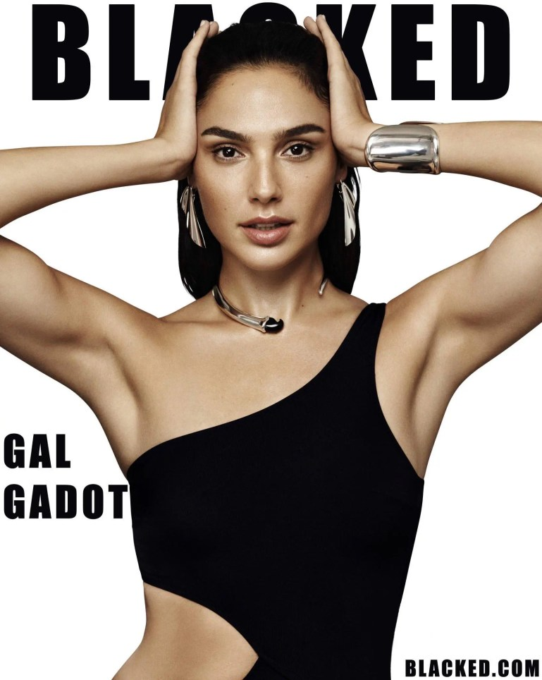 Gal Gadot Blacked - image  on https://blackcockcult.com