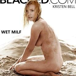 Blacked List: Kristen Bell - image  on https://blackcockcult.com