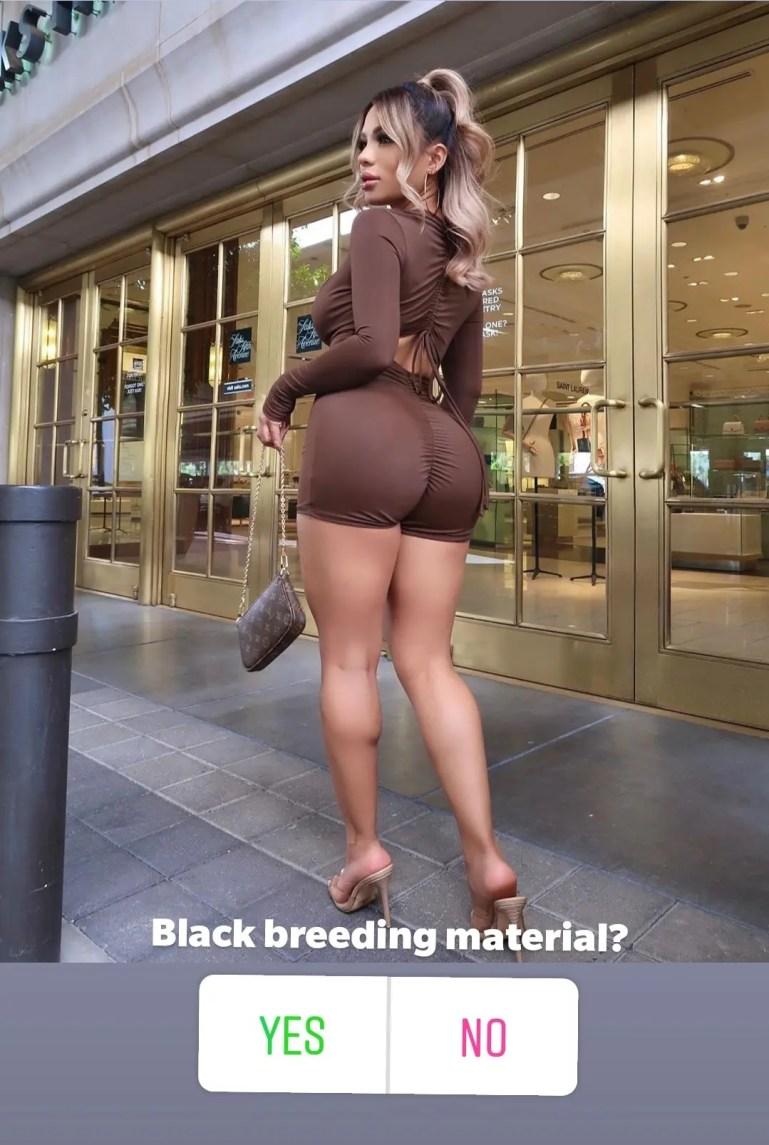 A Curious White Girl - image  on https://blackcockcult.com