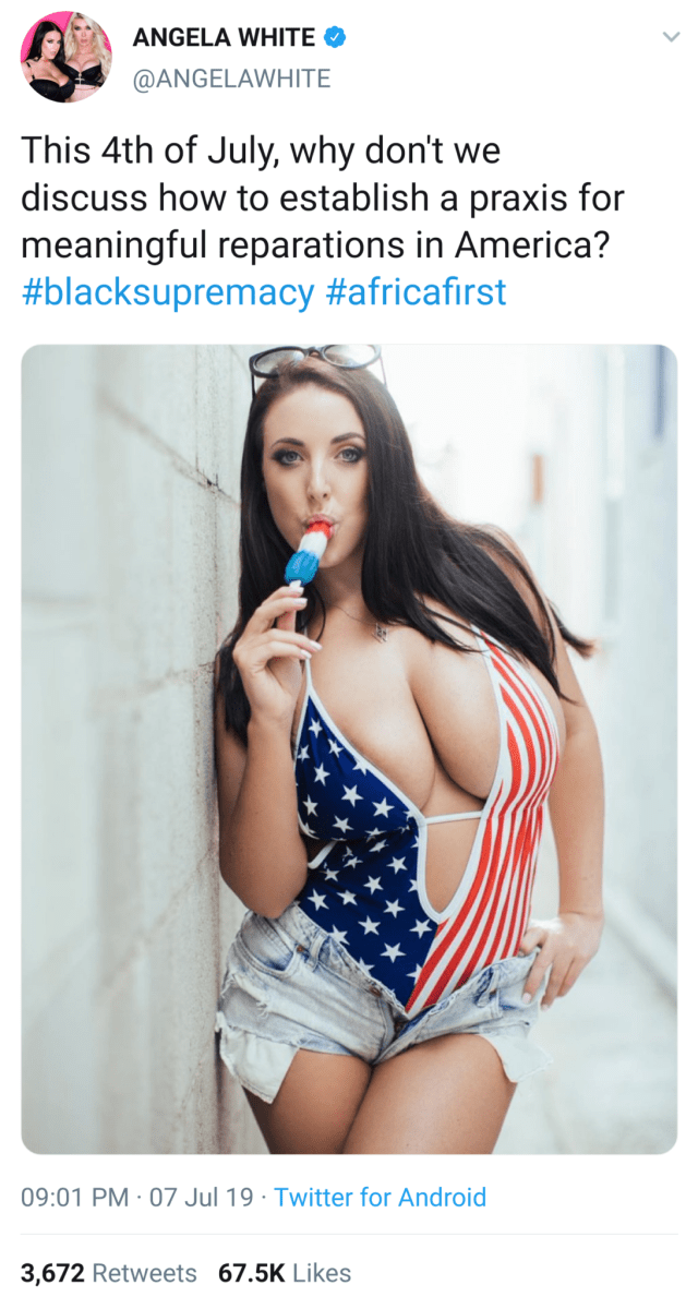 Happy Fourth - image  on https://blackcockcult.com