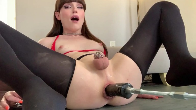 Sissy Slut Natalie Mars Brutally Anal Trained - image  on https://blackcockcult.com