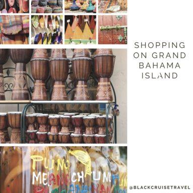 Shopping On Grand Bahama Island