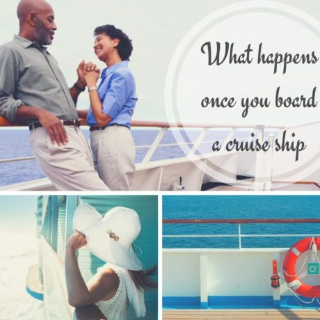 What happens once you board a cruise ship | Black Cruise Travel