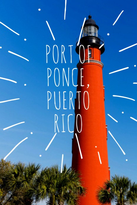 Port Of Ponce Puerto Rico | Black Cruise Travel