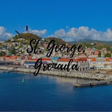 St. George Grenada   Black Cruise Travel