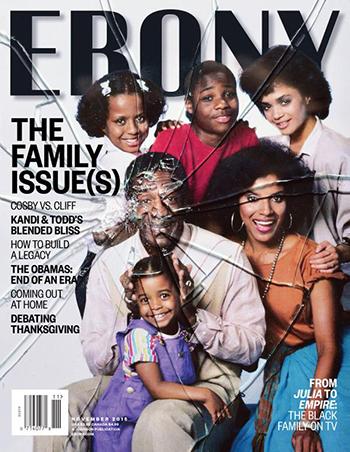 November 2015 cover of Ebony Magazine