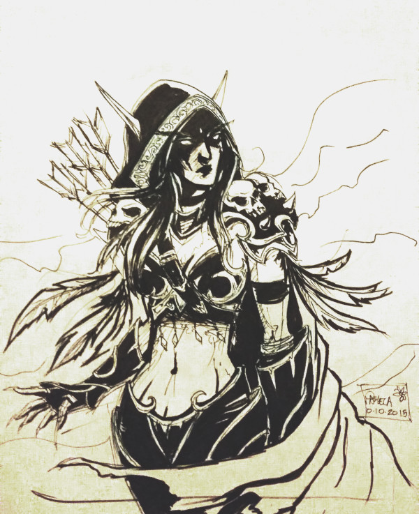 Day 10 - Sylvanas Windrunner / World of Warcraft