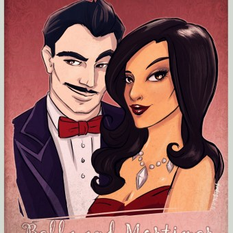 Bella and Mortimer by blackdaisies