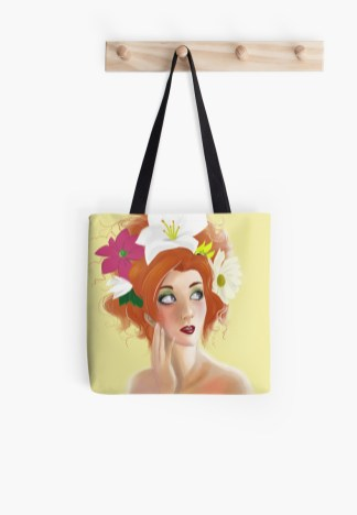 Totebag at redbubble
