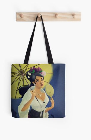 redbubble totebag