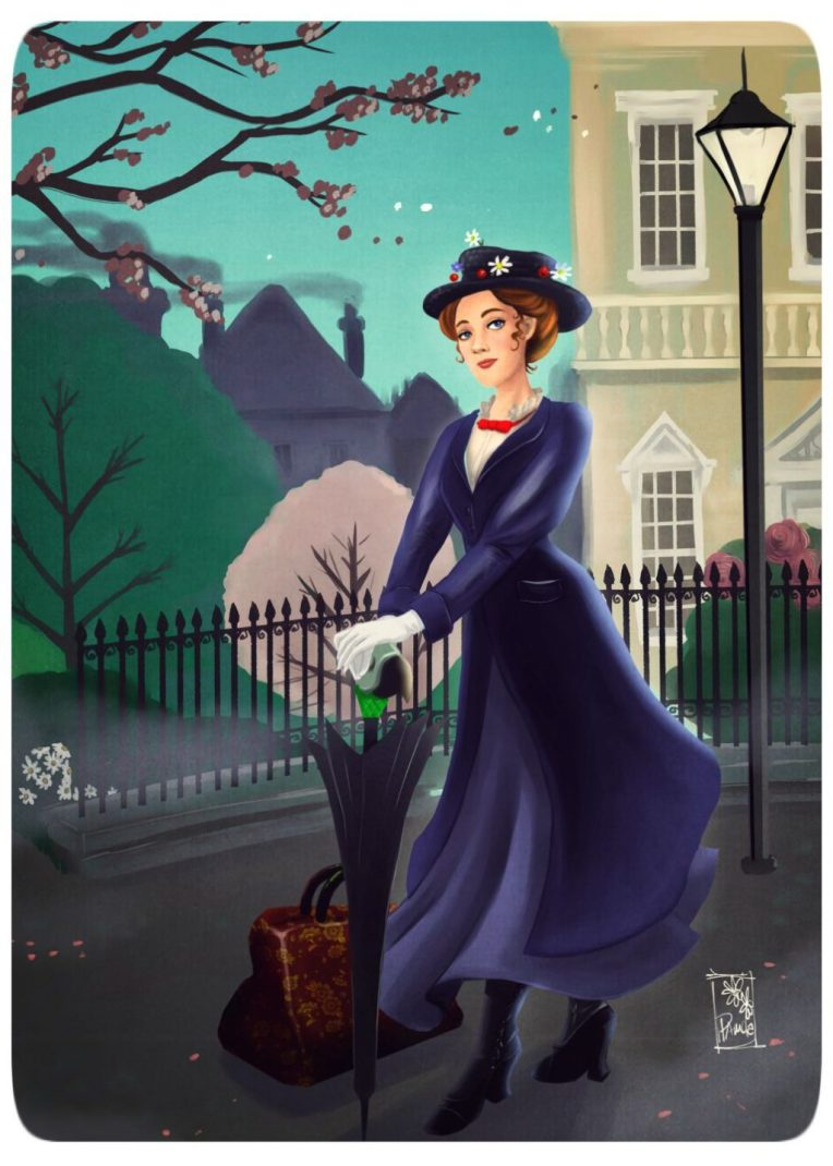 Mary Poppins by Blackdaisies