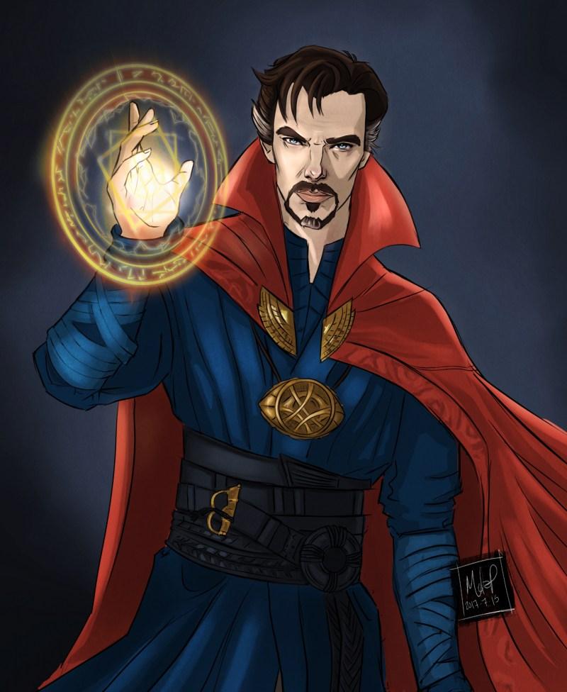 doctor strange by Blackdaisies