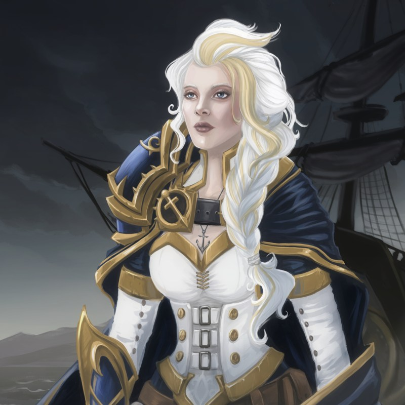 Daughter of the Sea WoW fan art by Blackdaisies