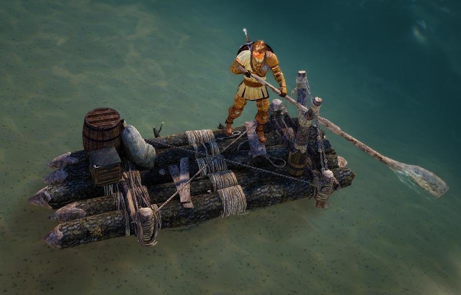 Создание лодки в Black Desert