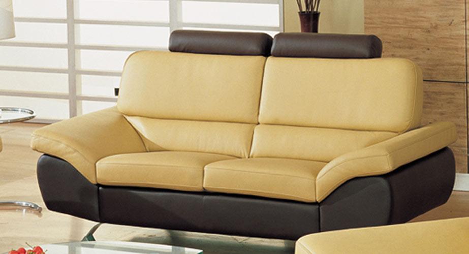 Bali – Contemporary Leather Sofa Set