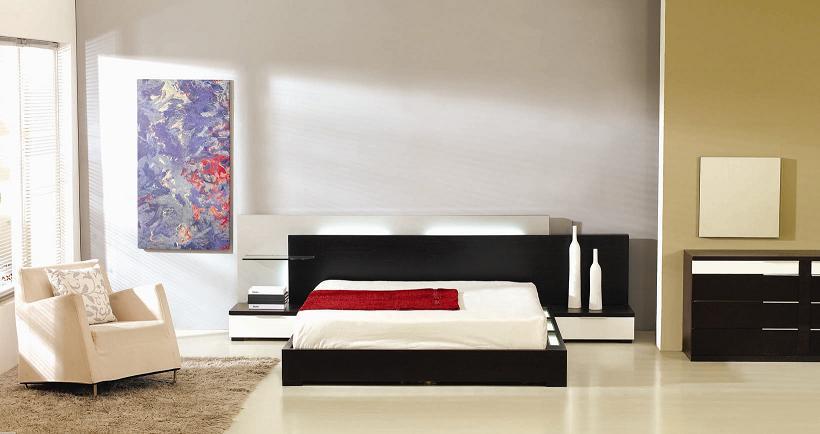 Gamma Modern Platform Bed (No Air-Lift)