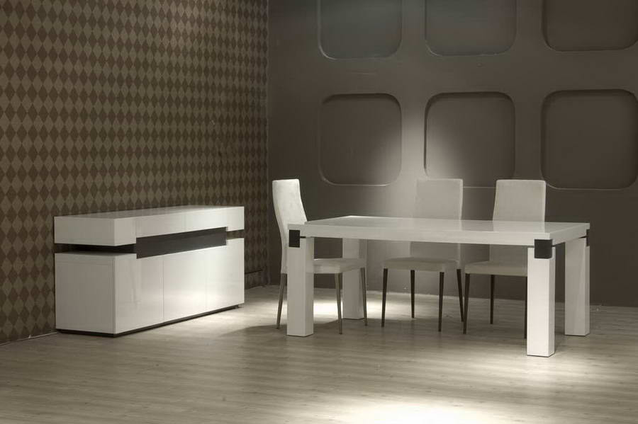 616 White Dining Table