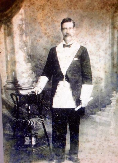 Arthur Edward Chamberlain Worshipful Master at Thirroul Masonic Lodge - used to attend with son NeilD