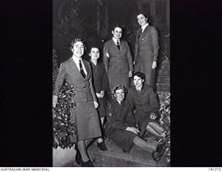 AWM - Army Training School - Janet Cook is standing at back on right