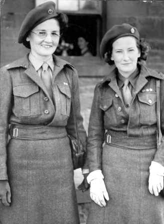 Sister Joan Palmer and Sister Ruth Palmer ARRC