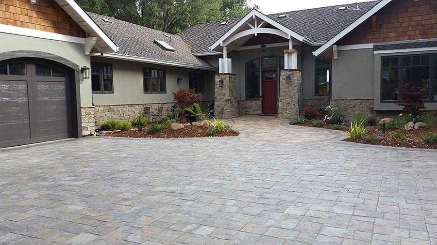 driveways black diamond paver stones
