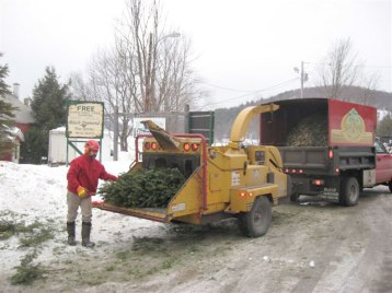 Brush Chipping Southern VT