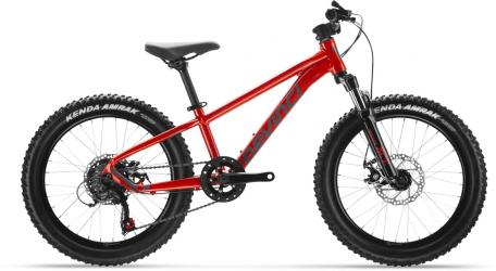 Red kids' bike