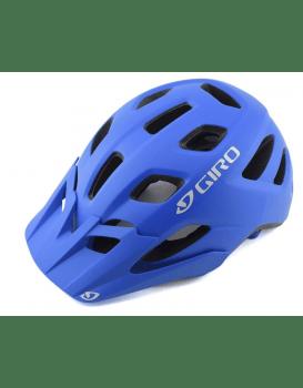 Blue Giro bike helmet