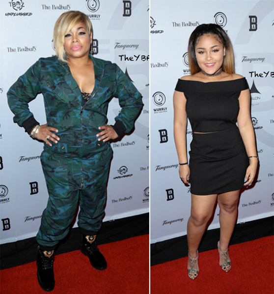 T-Boz and Daughter