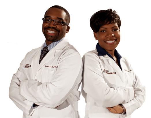 Drs. Rob and Karla Robinson of The Urban Housecall